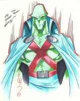 Martian Manhunter by roddly