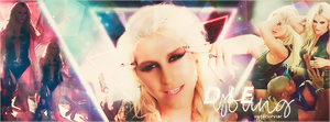 Portada Die Young Ke$ha by DaniMonsterEditions