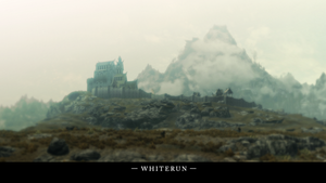 The Elder Scrolls V: Skyrim Whiterun Wallpaper by Titch-IX