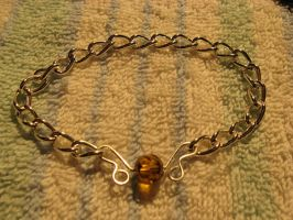 Snitch Bracelet 1 by WireMySoul