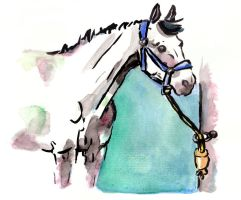 Cheval 2 by Paintwick