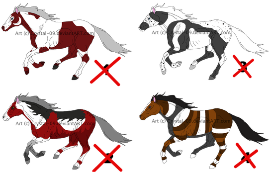 Horse- point adopts 7 -CLOSED- by Crystal-09