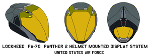 fa-70  Panther 2 Helmet United States Air Force by bagera3005