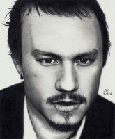 Heath Ledger - Himself by Doctor-Pencil