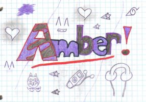 Amber _Me_ by Ed-Wrath-Luvver