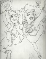 gravity falls' own dipper and mabel pines by swordsmith86
