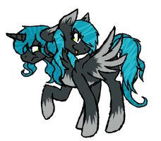 MLP Two-headed-pony OTA: CLOSED by Nyan-Adopts-2000