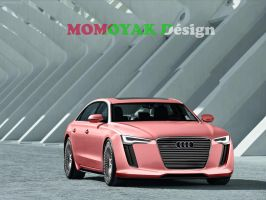 AUDI A9 Concept by MOMOYAK by MOMOYAK