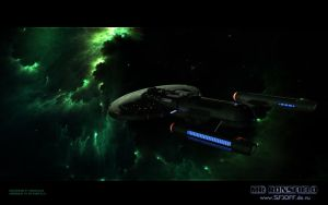 Andromeda in Romulan Space by MrRonsfield