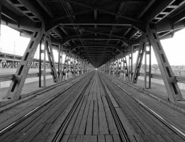 Gdanski Bridge by piotrb1
