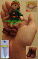Ceramic Young Link by HeyLookASign