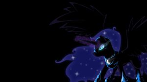 Nightmare Moon BG by Braukoly