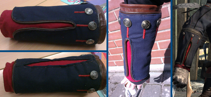 Charleston Connor Kenway, Fabric Vambrace by Pearlite