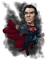 Man of Steel Superman by mistermoster