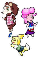 Best Animal Crossing Gals by JustAGirlOnline