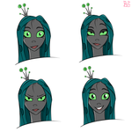 Chrysalis Human Sketches #3 by briar-spark
