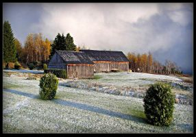 First Snow In October by JocelyneR