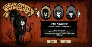 [ Don't Starve ] Shadow by AlexMercer-Sara123