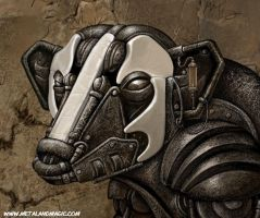 Badger Mech Detail by ursulav
