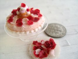 Miniature Laduree St Honore Cake 1-12 by Snowfern