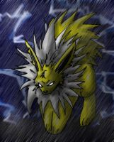 jolteons storm by cheese-puff82