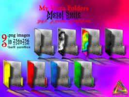 My Vista Folders.Metal Suite. by klen70