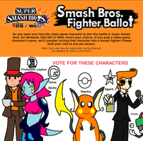 Who i want in Smash by YingYangHeart