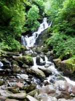 Waterfall - Ring of Kerry by AnnyOther