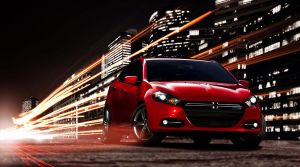 Dodge Dart - Night city by cocoonH