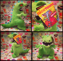 ( Rugrats ) Nictoons Reptar Plushie by KrazyKari
