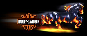 Harley Davidson Horse by dyb