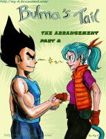 Bulma Tail Part 8 Cover by Mz-D