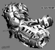 Armored by wiledog