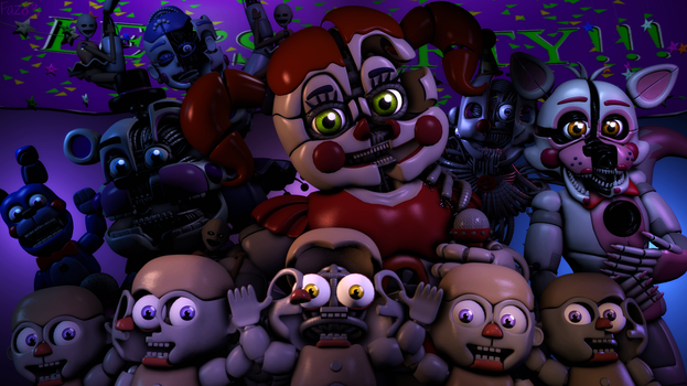 (SFM/FNAF:SL/Remake) The fun is starting by Fazband83