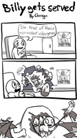 Billy is a loser by Chongothedrawfriend
