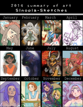 2014 Summary of Art by OOT-Link