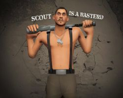 Scout is a basterd by MrRiar