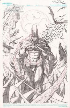 BATMAN original art! by Sandoval-Art