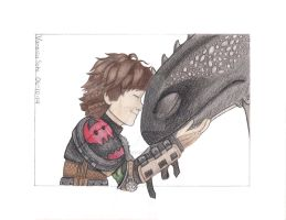 Never Cease to Amaze- Httyd 2 (Colored) by aquavanessa27