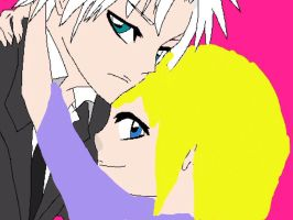 Toshiro and yuki by otakugirl0975