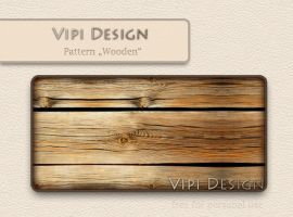 Pattern Wooden by Vipi Design by elixa-geg