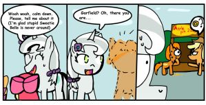 Opal's life 47 (with Garfield) by Helsaabi