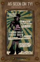 Voodoo Dolly Freakshow Circus by misfitmalice