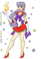 Super Sailor Mars by AnneMarie1986
