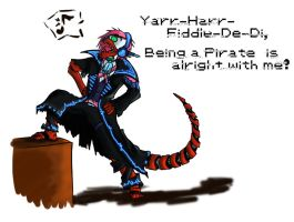 Wub is a Pirate! by ChesterPalm