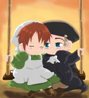 Swing with me HRE n_n by Steampunky-Bunny-Boo