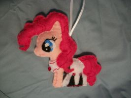 Pinkie Pie Hearthwarming Ball Ornament by grandmoonma