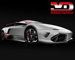 Lamborghini Murcielago by MarisDesign