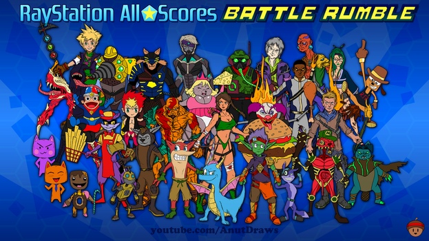 RayStation All-Scores Battle Rumble by AnutDraws