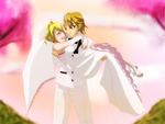 Link X Lucy's Wedding Request from 0eka0 by LinkHelios234